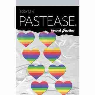 Pastease Mini Rainbow Heart - Pack of 8 O/S